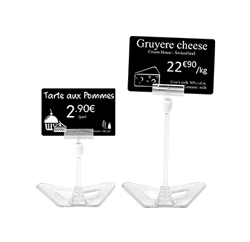 Edikio - Cristal Price tag stands