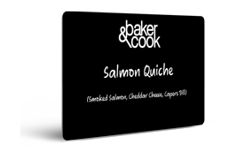 Sample card Baker and Cook